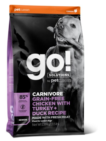 PETCUREAN GO! Solutions Carnivore Senior Dog 10 kg