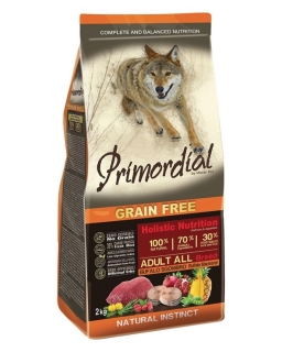 PRIMORDIAL Adult Buffalo&Mackerel 12 kg