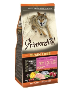 PRIMORDIAL Puppy Chicken&Seafish 12 kg