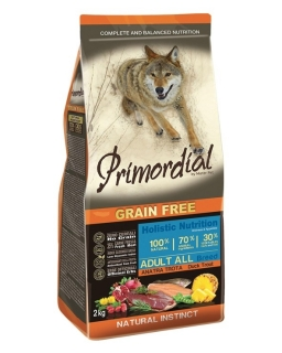 PRIMORDIAL Adult Trout & Duck 2 kg