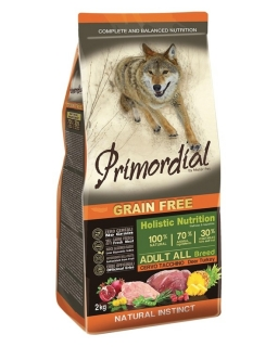PRIMORDIAL Adult Deer & Turkey 2 kg