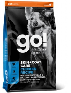 PETCUREAN GO! Solutions Skin&Coat Chicken Dog 11,4 kg