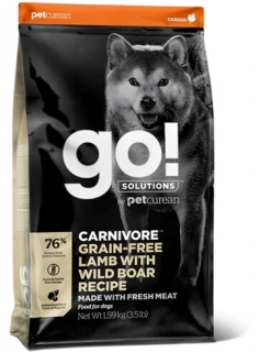 PETCUREAN GO! Solutions Carnivore Lamb & Wild Boar Dog 10 kg
